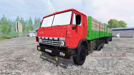 KamAZ-55212 v2.0 for Farming Simulator 2015