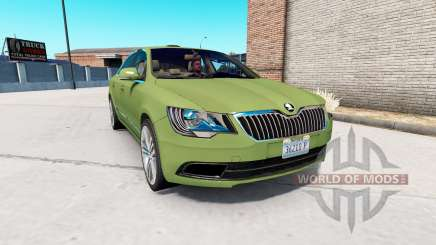 Skoda Superb v1.4 for American Truck Simulator