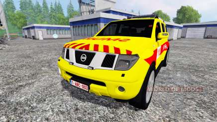 Nissan Pathfinder [SMUR] for Farming Simulator 2015