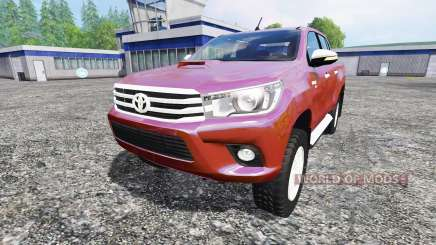Toyota Hilux 2016 for Farming Simulator 2015