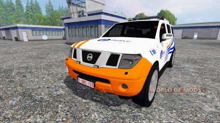 Nissan Pathfinder [federal police] for Farming Simulator 2015