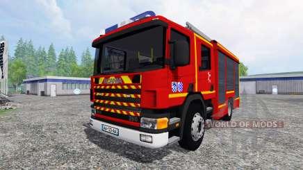 Scania P94D 260 GIMAEX v0.4.1 for Farming Simulator 2015
