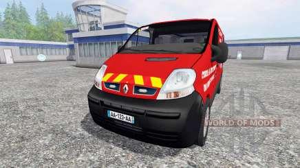 Renault Trafic VTU v3.0 for Farming Simulator 2015