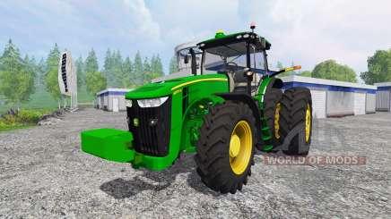 John Deere 8370R v4.0 for Farming Simulator 2015