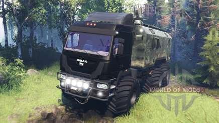 The Yamal-6 v5.0 for Spin Tires