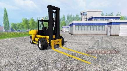 Komatsu EX50 v1.85 for Farming Simulator 2015