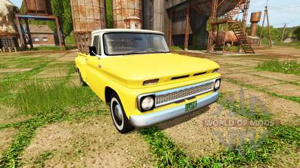 Chevrolet C10 Fleetside 1966 for Farming Simulator 2017