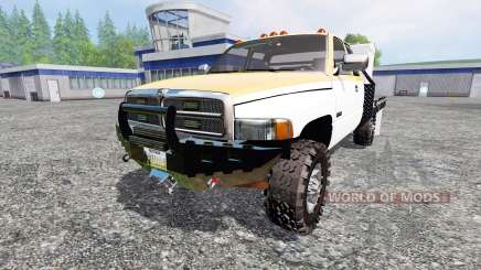 Dodge Ram 2500 [feed truck] for Farming Simulator 2015