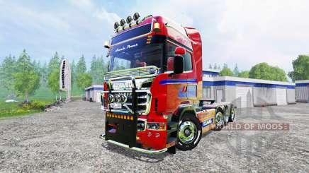 Scania R560 8x4 for Farming Simulator 2015