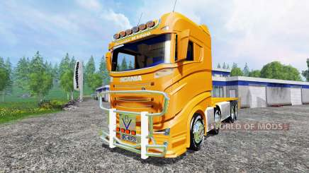Scania R1000 [container truck] for Farming Simulator 2015