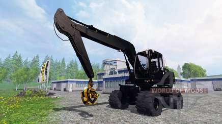 Liebherr A900C [black edition] for Farming Simulator 2015