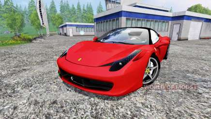 Ferrari 458 Italia for Farming Simulator 2015