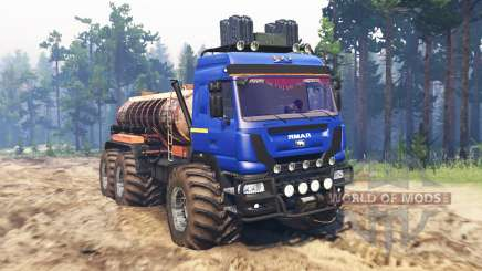 The Yamal-6 for Spin Tires
