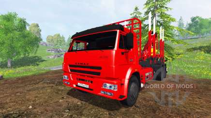 KamAZ-65117 6x4 [timber] for Farming Simulator 2015