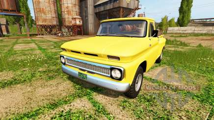 Chevrolet C10 Fleetside 1966 4x4 for Farming Simulator 2017