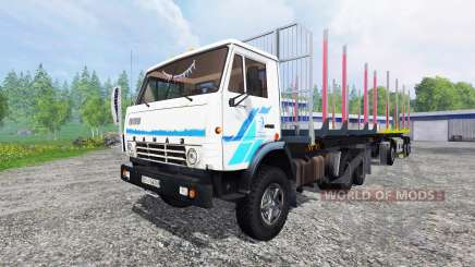 KamAZ-53212 [timber] for Farming Simulator 2015