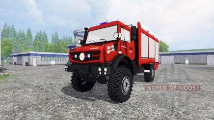 Mercedes-Benz Unimog U5023 [pack] for Farming Simulator 2015