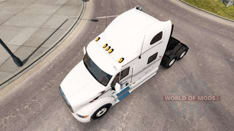 Raven skin for the truck Peterbilt 387 for American Truck Simulator