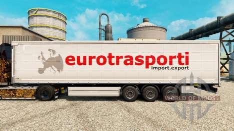 Skin Trasporti for Euro semi for Euro Truck Simulator 2