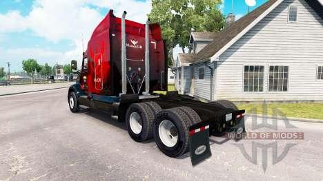 Valor skin for the truck Peterbilt 579 for American Truck Simulator