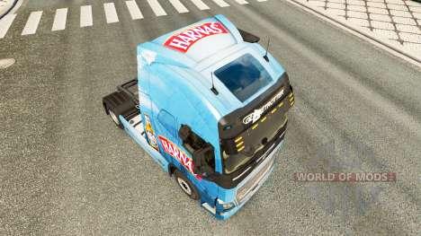 Harnas skin for Volvo truck for Euro Truck Simulator 2