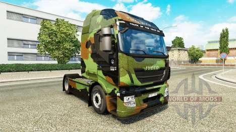 Camo skin for Iveco tractor unit for Euro Truck Simulator 2
