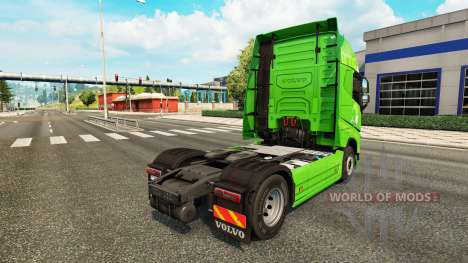 Bring skin for Volvo truck for Euro Truck Simulator 2