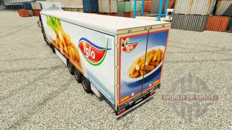 Iglo skin for trailers for Euro Truck Simulator 2