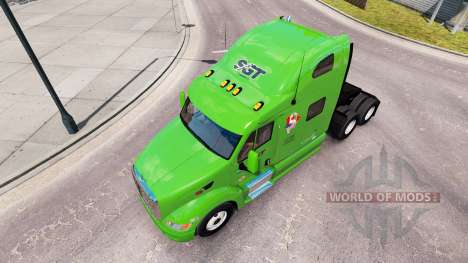 SGT skin for the truck Peterbilt 387 for American Truck Simulator