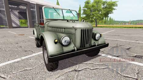 GAZ-69 for Farming Simulator 2017