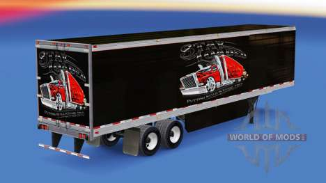 Skin Stay Loaded on refrigerated semi-trailer for American Truck Simulator