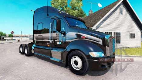 The skin of the Marten on the tractor Peterbilt  for American Truck Simulator