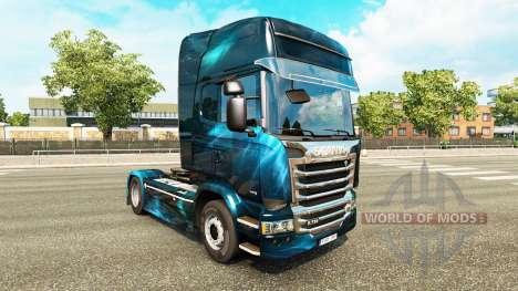 Skin for Scania truck for Euro Truck Simulator 2