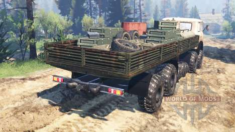 MAZ-515Р 8x8 v2.0 for Spin Tires