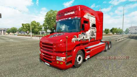Skin Scania History on the truck Scania T for Euro Truck Simulator 2