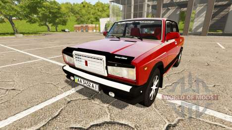 VAZ-2107 for Farming Simulator 2017