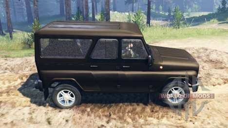 UAZ-3153 for Spin Tires