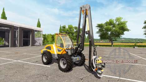 Sampo Rosenlew HR46X full cranecontrols for Farming Simulator 2017