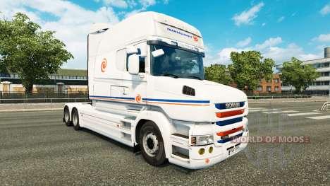 Transalliance skin for Scania T truck for Euro Truck Simulator 2