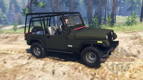 Jeep YJ 1991 for Spin Tires