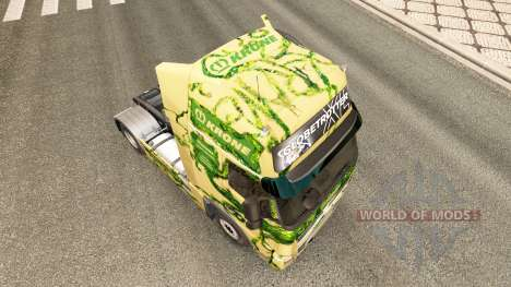 The skin on the Krone truck tractor Volvo for Euro Truck Simulator 2