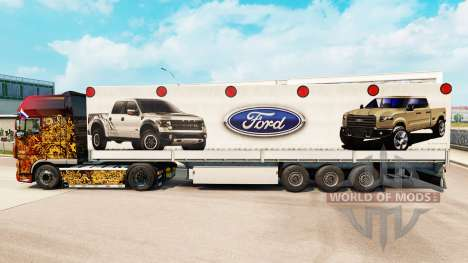 Skin Ford semi for Euro Truck Simulator 2