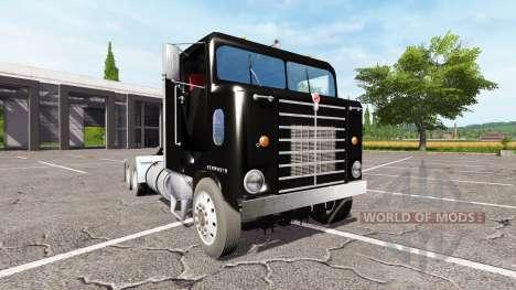 Kenworth BullNose for Farming Simulator 2017