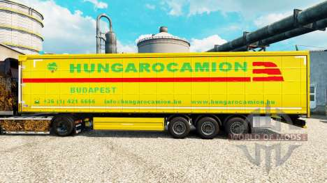 Hungarocamion skin for trailers for Euro Truck Simulator 2