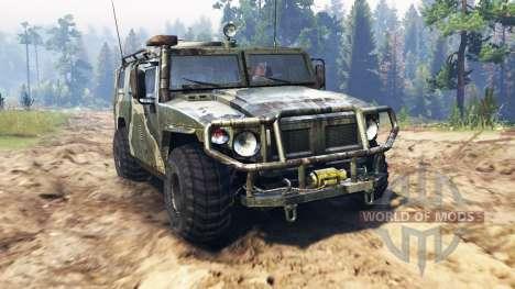 GAZ-2330 Tiger for Spin Tires