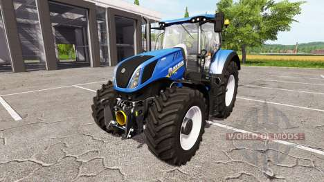 New Holland T7.315 heavy duty for Farming Simulator 2017
