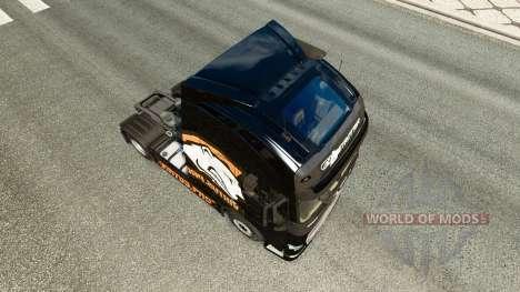 Skin Virtus.pro for Volvo truck for Euro Truck Simulator 2