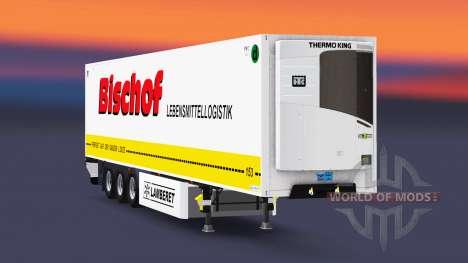 Semitrailer reefer EN Bischof for Euro Truck Simulator 2