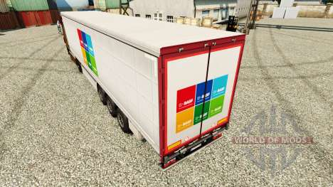 Skin BASF SE semi for Euro Truck Simulator 2