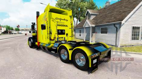 Vanderoel skin for the truck Peterbilt 389 for American Truck Simulator